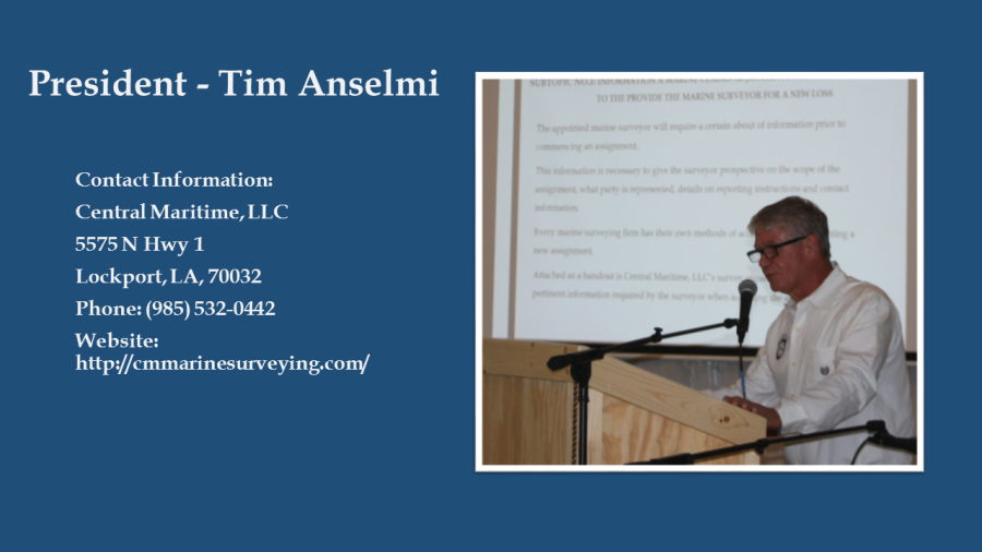 President - Tim Anselmi website